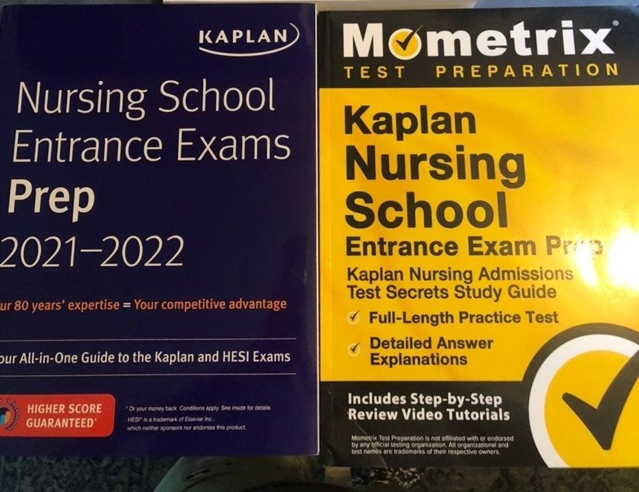 Set of 2 Nursing Test Prep