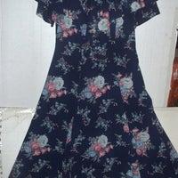 9400a51907 Liz Claiborne floral maxi ruffle dress