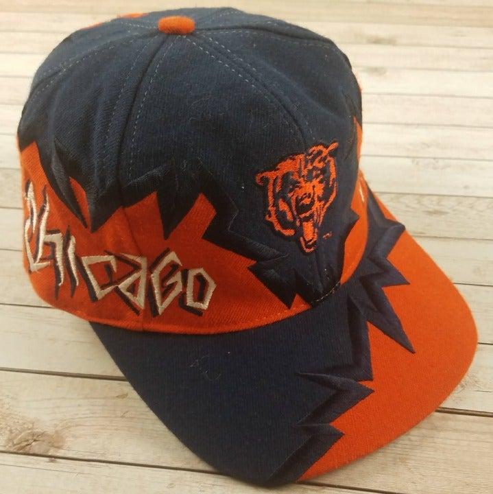 Rare VTG 90s Chicago Bears Shockwave Hat