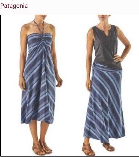 Patagonia kamila skirt/Halter dress size