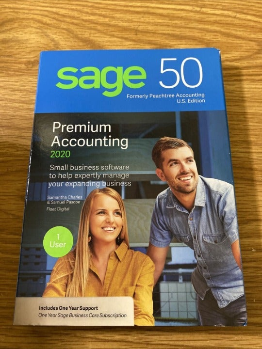 Sage 50 Premium Accounting 2020 for Wind
