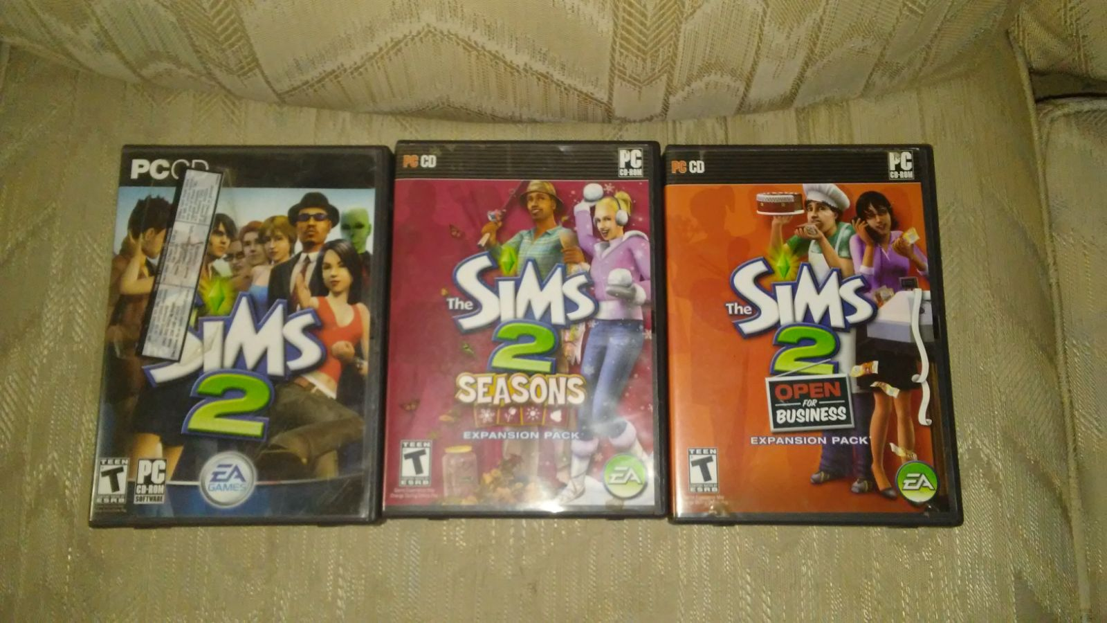 The Sims 2 Lot EA Games Incomplete Open