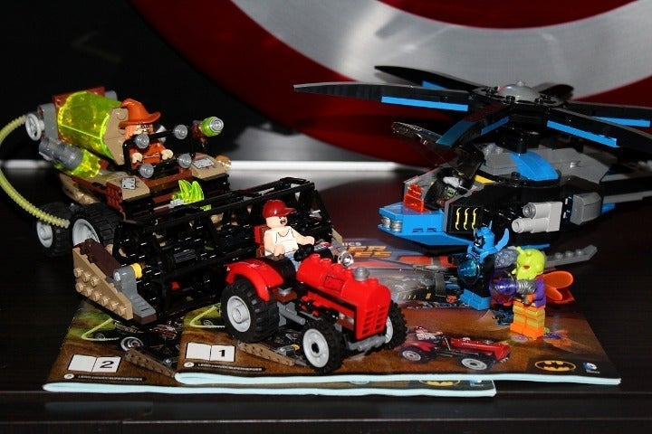 Lego 76054 Batman: Scarecrow Harvest of
