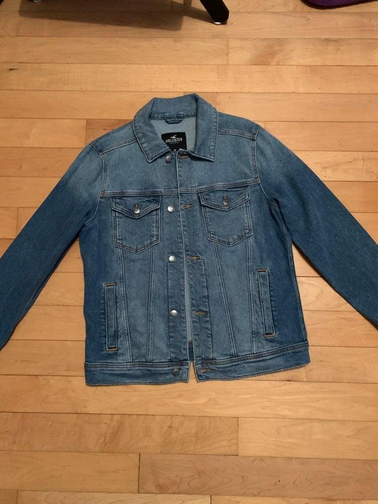Hollister Denim Jacket New Size Medium