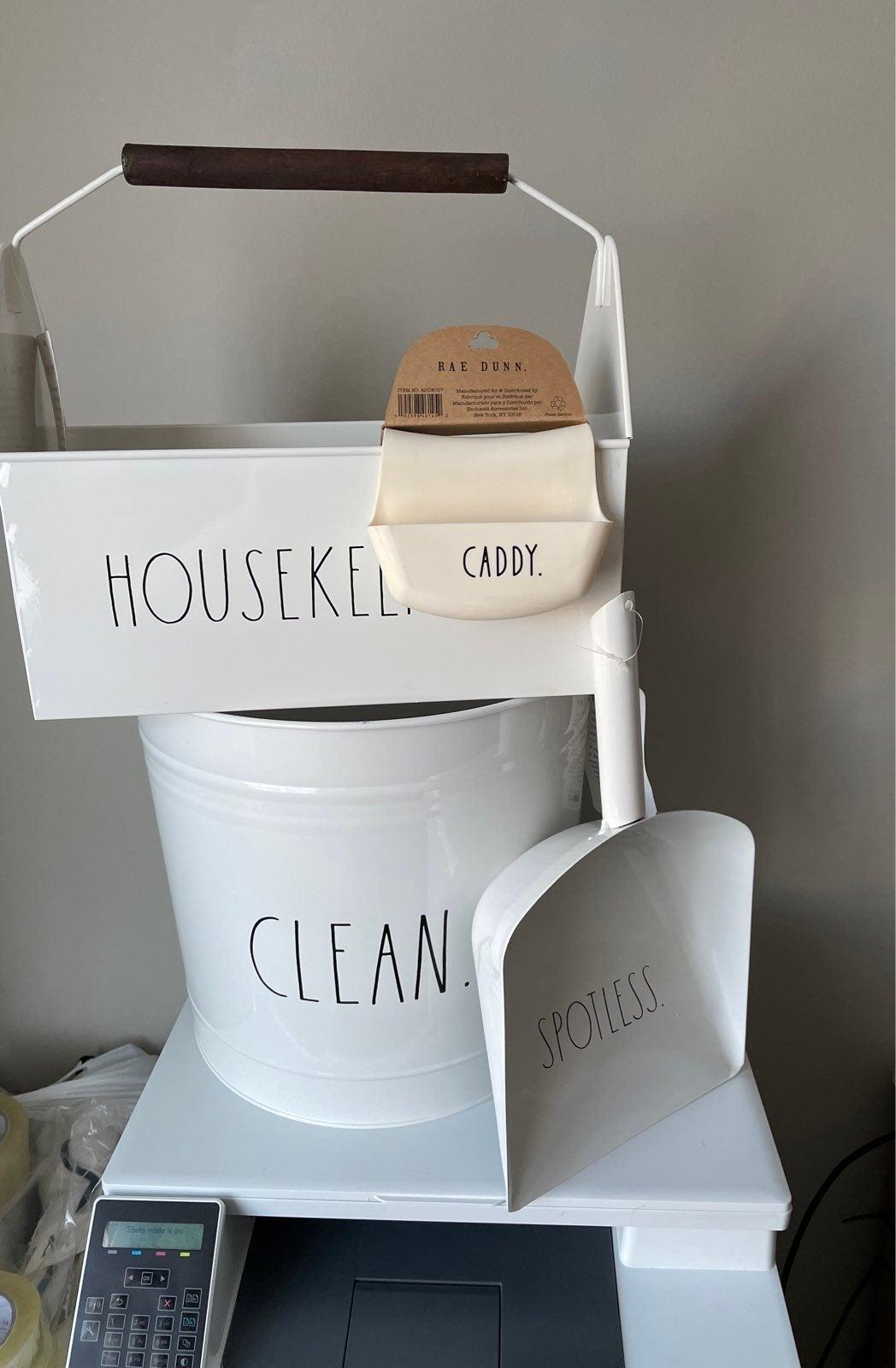 Rae Dunn housekeeping