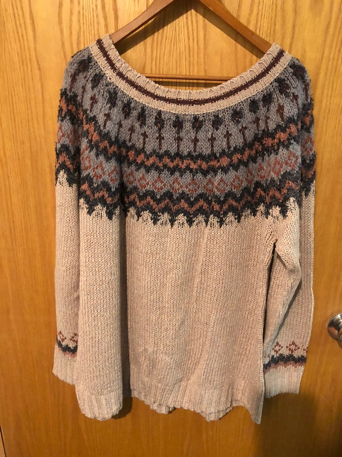 Maurices Fair Isle Sweater