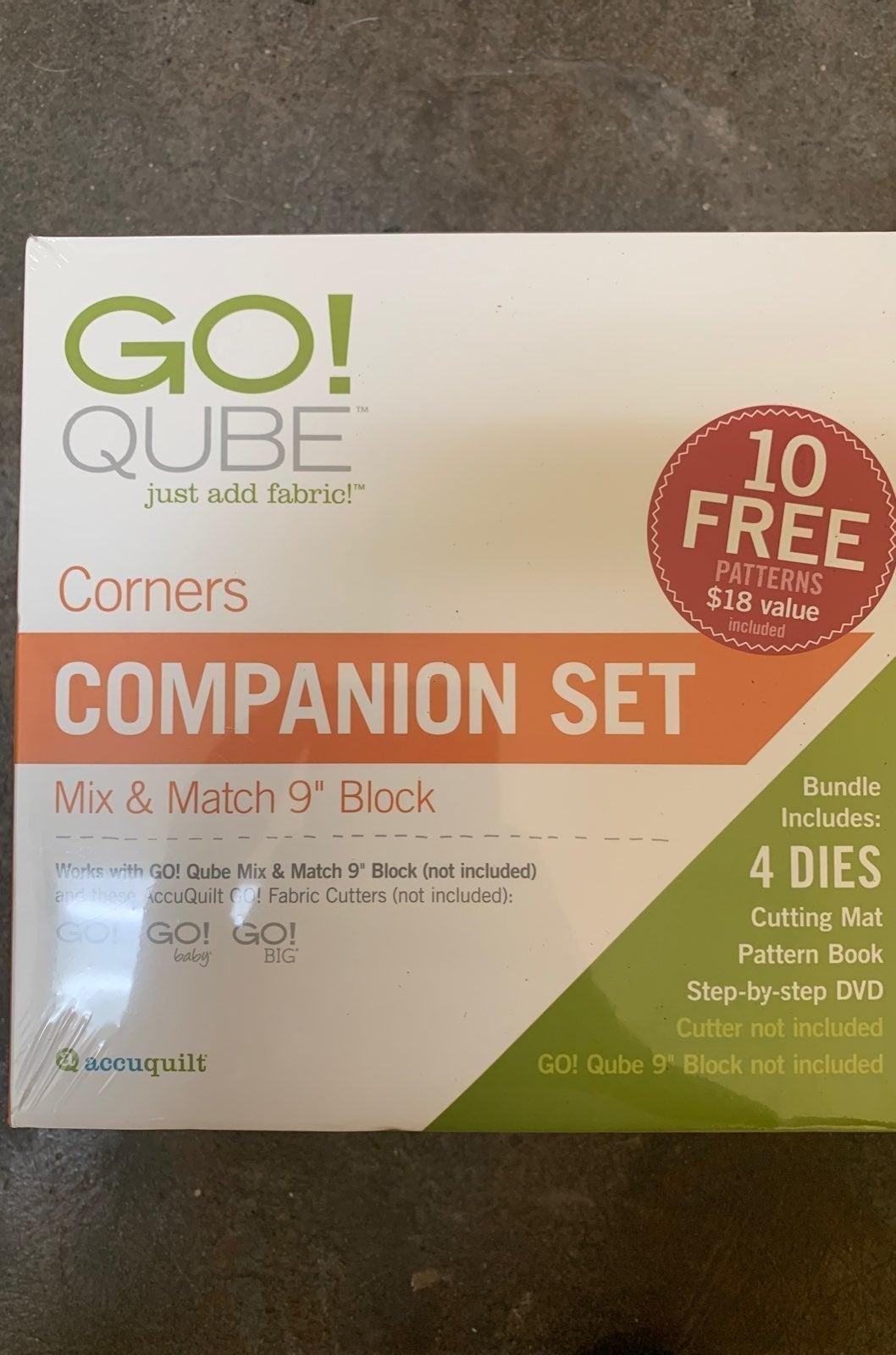 "AccuQuilt GO! Qube 9"" Companion Corners"