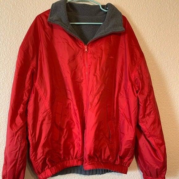Men's Reversible Speedo Jacket Sz L