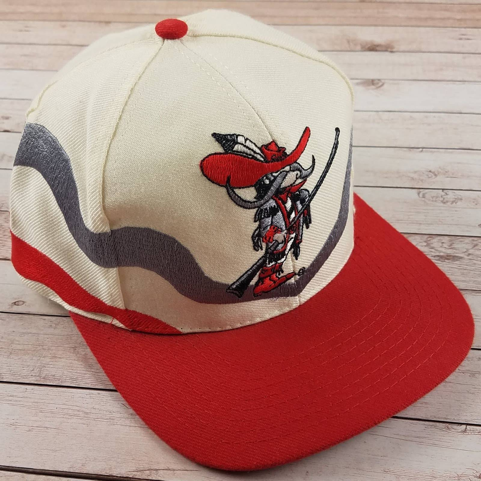 VTG 90s UNLV Rebels Apex Snapback Hat