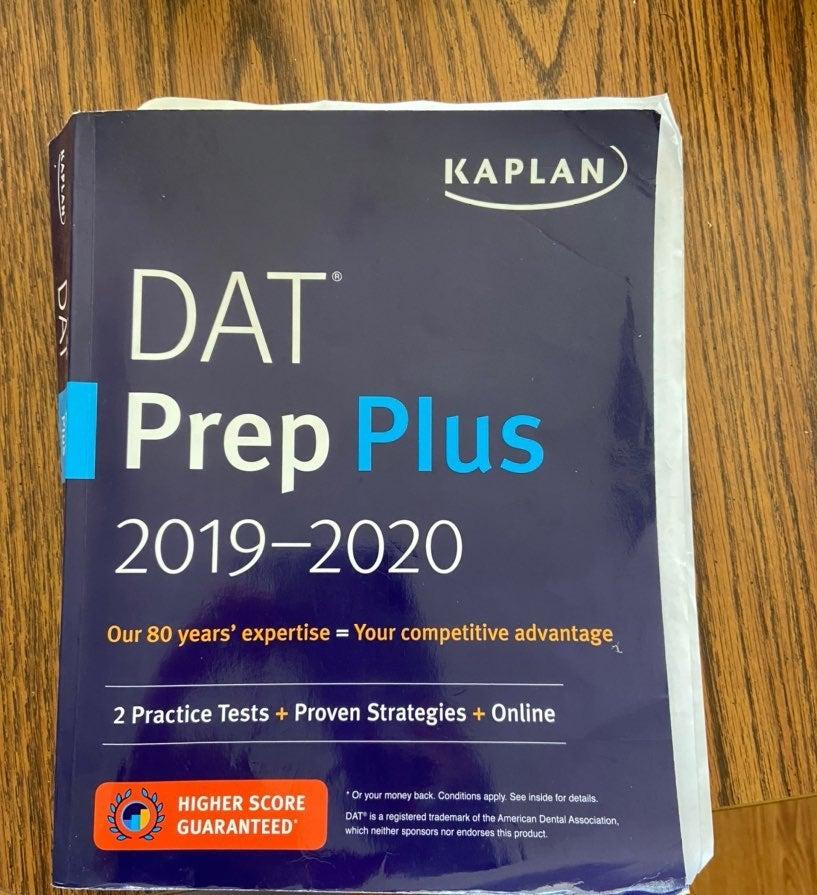 Kaplan DAT prep