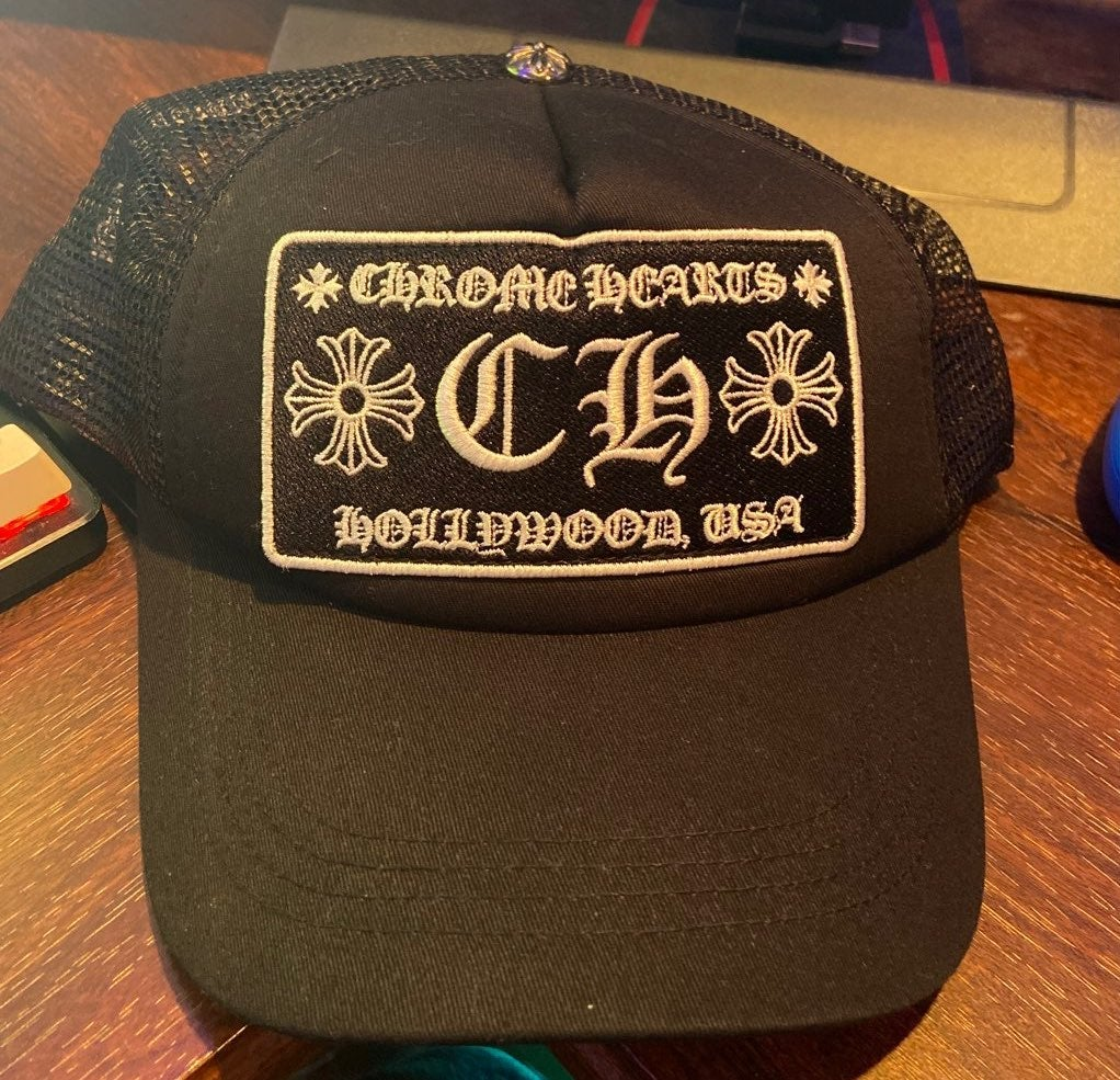 Chrome Hearts Hat Black