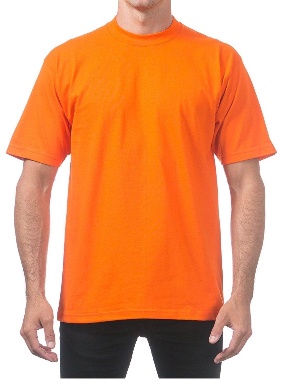 NEW! Lot (2) Men's Orange Blue T-Shirt M