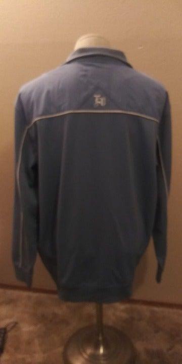 ECKO UNLTD mens Large track jacket blue