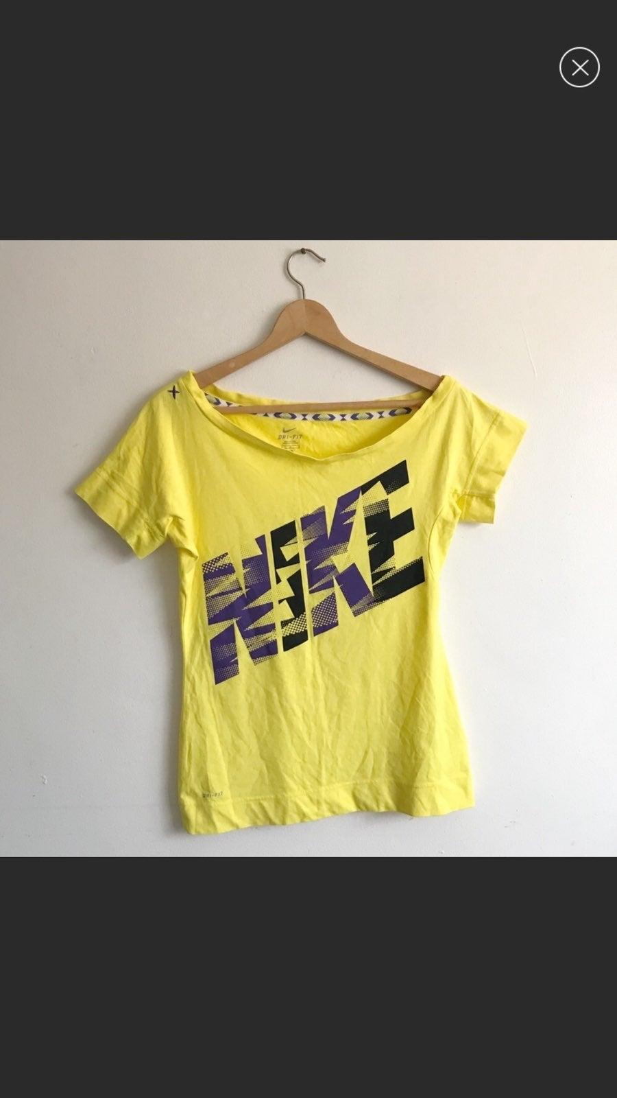 Nike Dri-fit yellow shirt