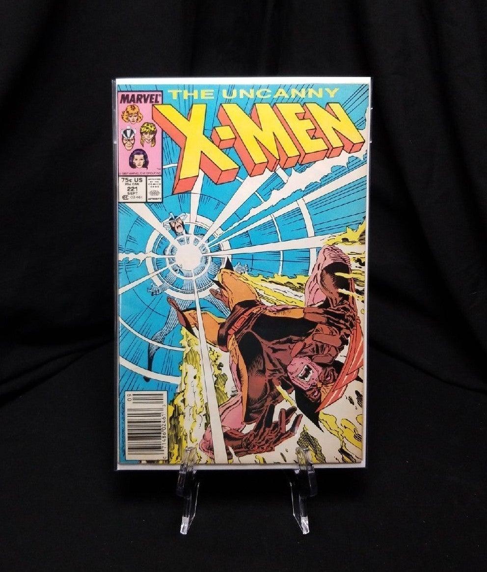 Uncanny X-Men #221 Newsstand