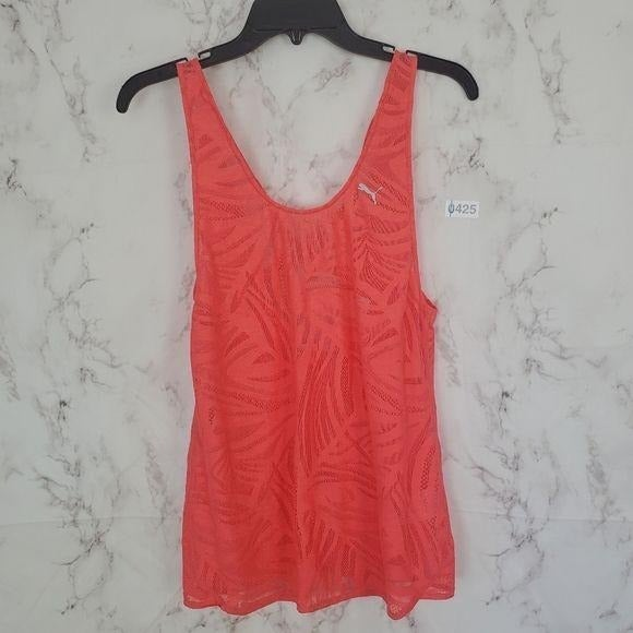 PUMA Cell Cool Tank Top Mesh Sleeveless
