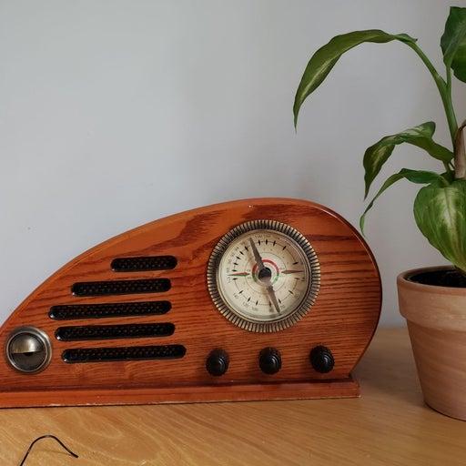 *rare* crosley cr-39 teardrop radio