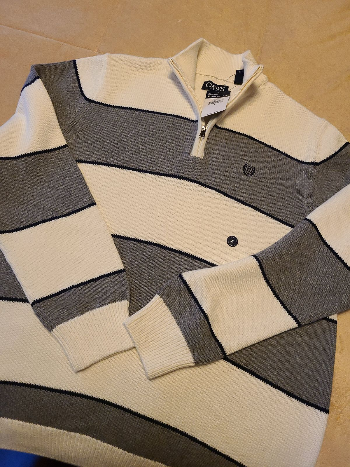 Chaps Mens sweater, nwt, size large