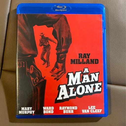 A man alone Blu Ray 1955 rare oop