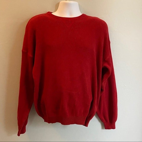 John Ashford Mens Cotton Sweater Large