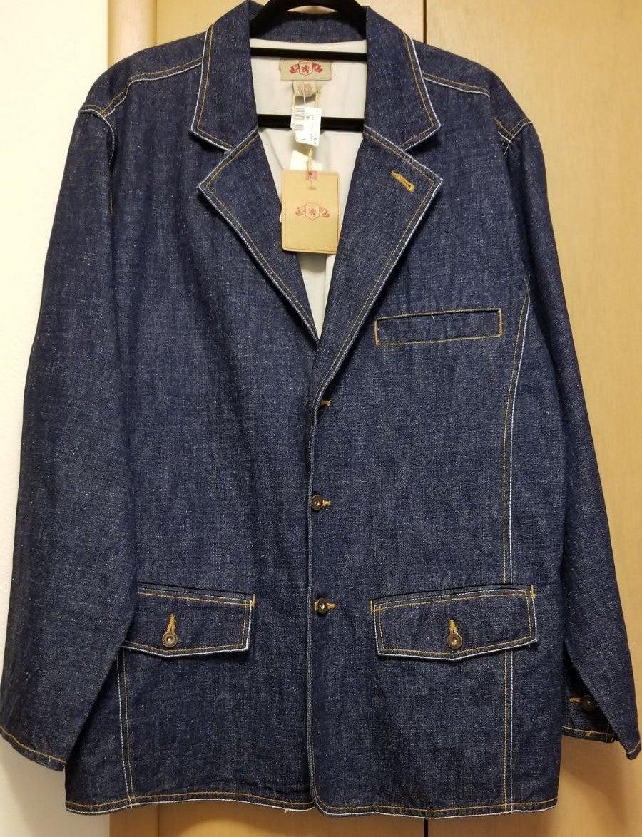 Mens PJ Mark Denim Sz L Work Coat Jacket