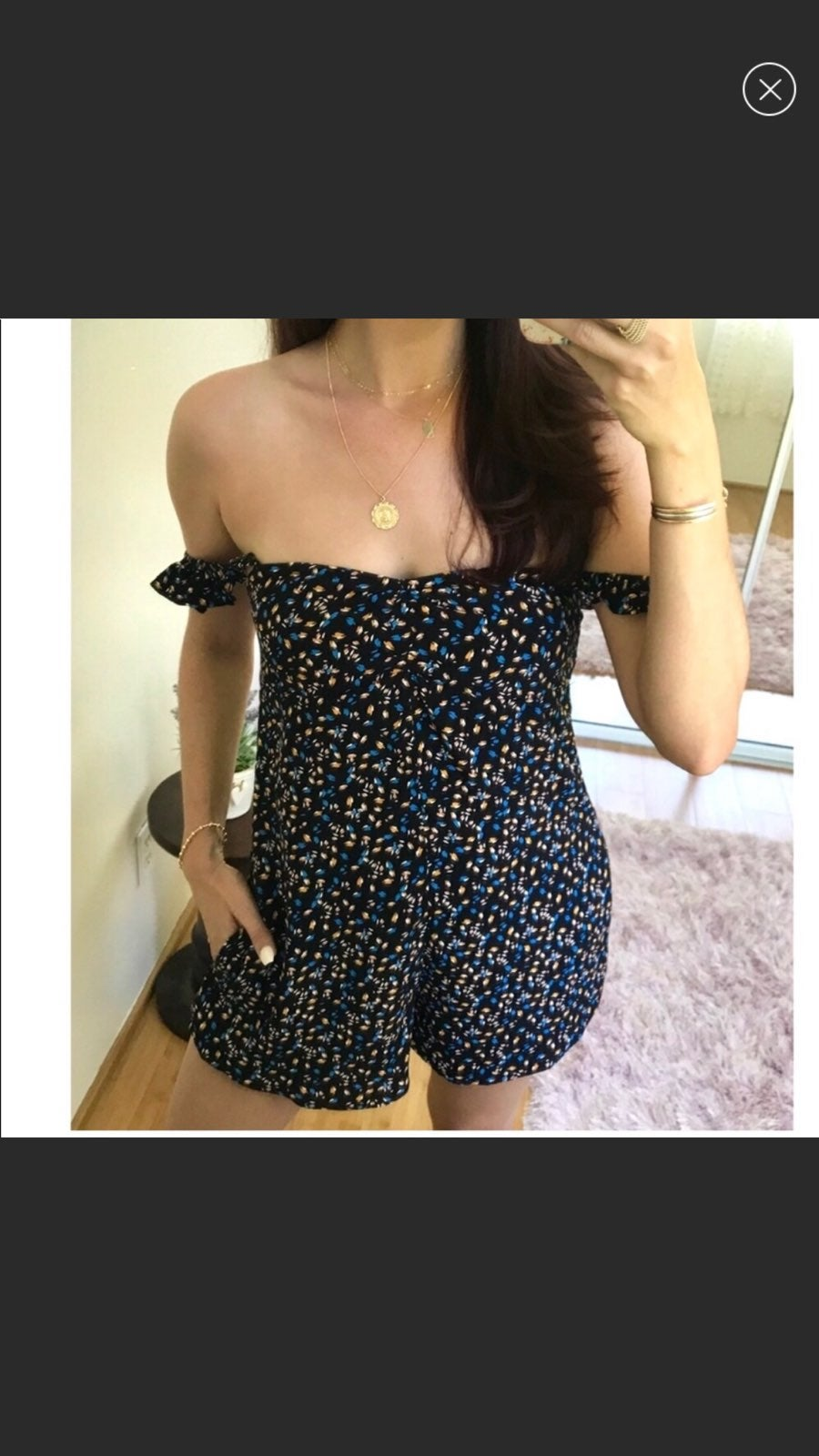 Olivaceous Romper SMALL