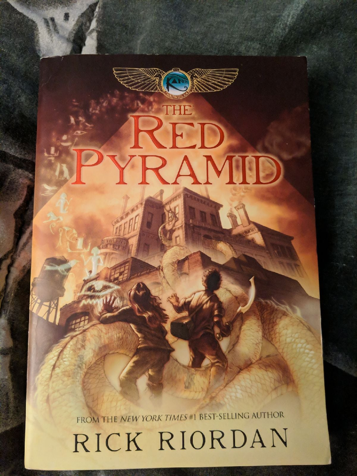 The Red Pyramid Novel