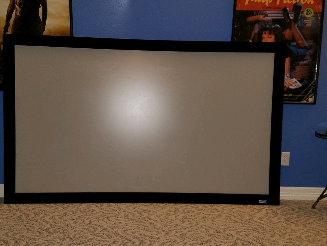 "Da-Lite 92"" Projector Screen"