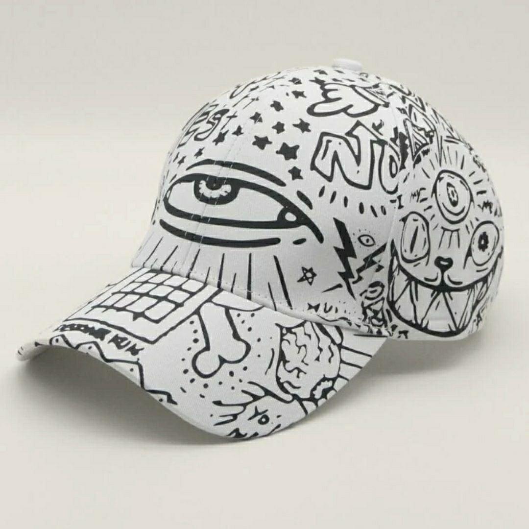 Trippy Third Eye Graffiti Strapback