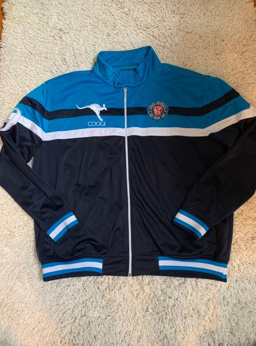 Coogi Blue Track Jacket Australia 4XL