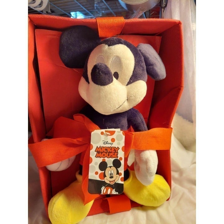 Disney Mickey Mouse Character with box