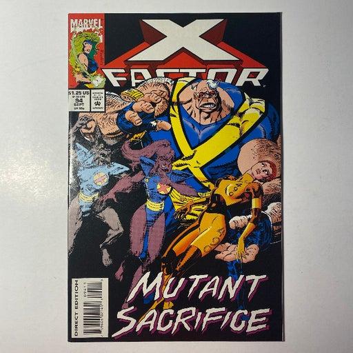 X-Factor #94 X-Men Marvel Comic Book