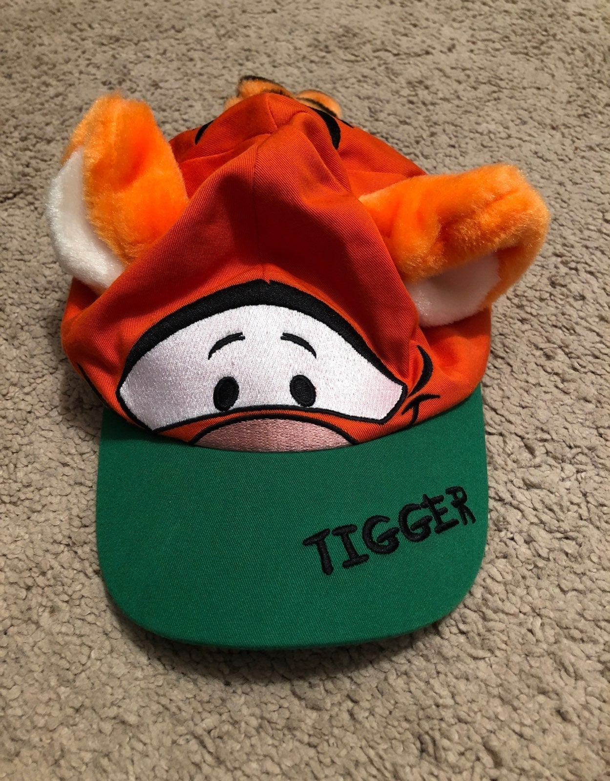 Disney tigger hat