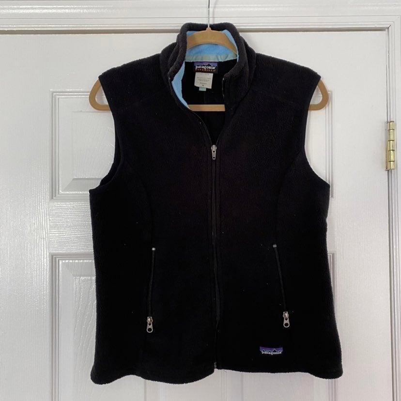 Patagonia Synchilla Black Fleece Vest M
