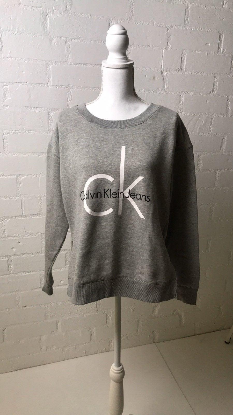 Classic CK jeans cut side sweatshirt L