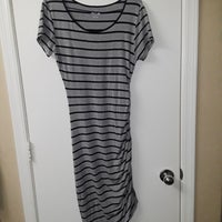86f0dd58312 Apt 9 Striped Large Dress