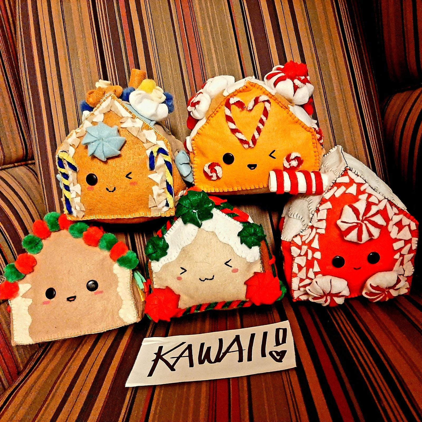 Gingerbread House Plush Kawaii Harajuku