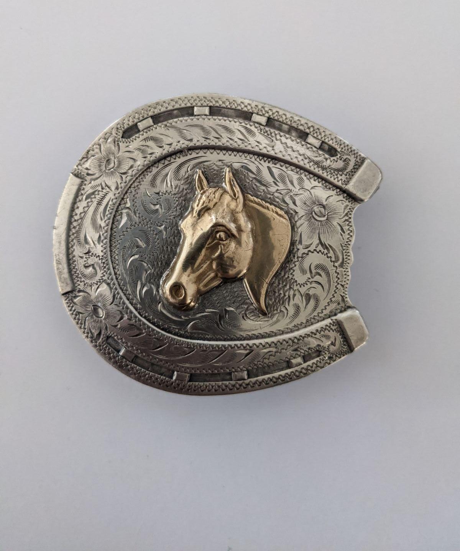 Vintage Diablo belt buckle