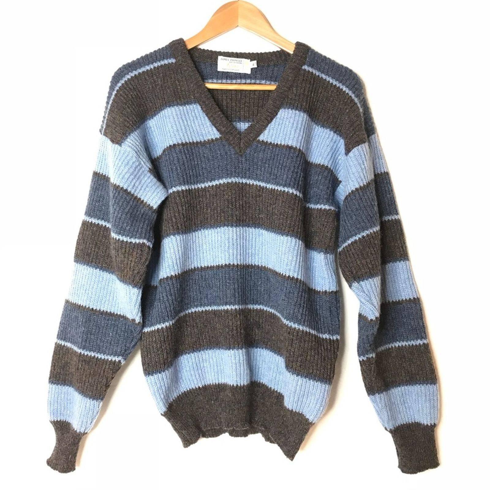 James Pringle Scotland Wool Sweater M/L