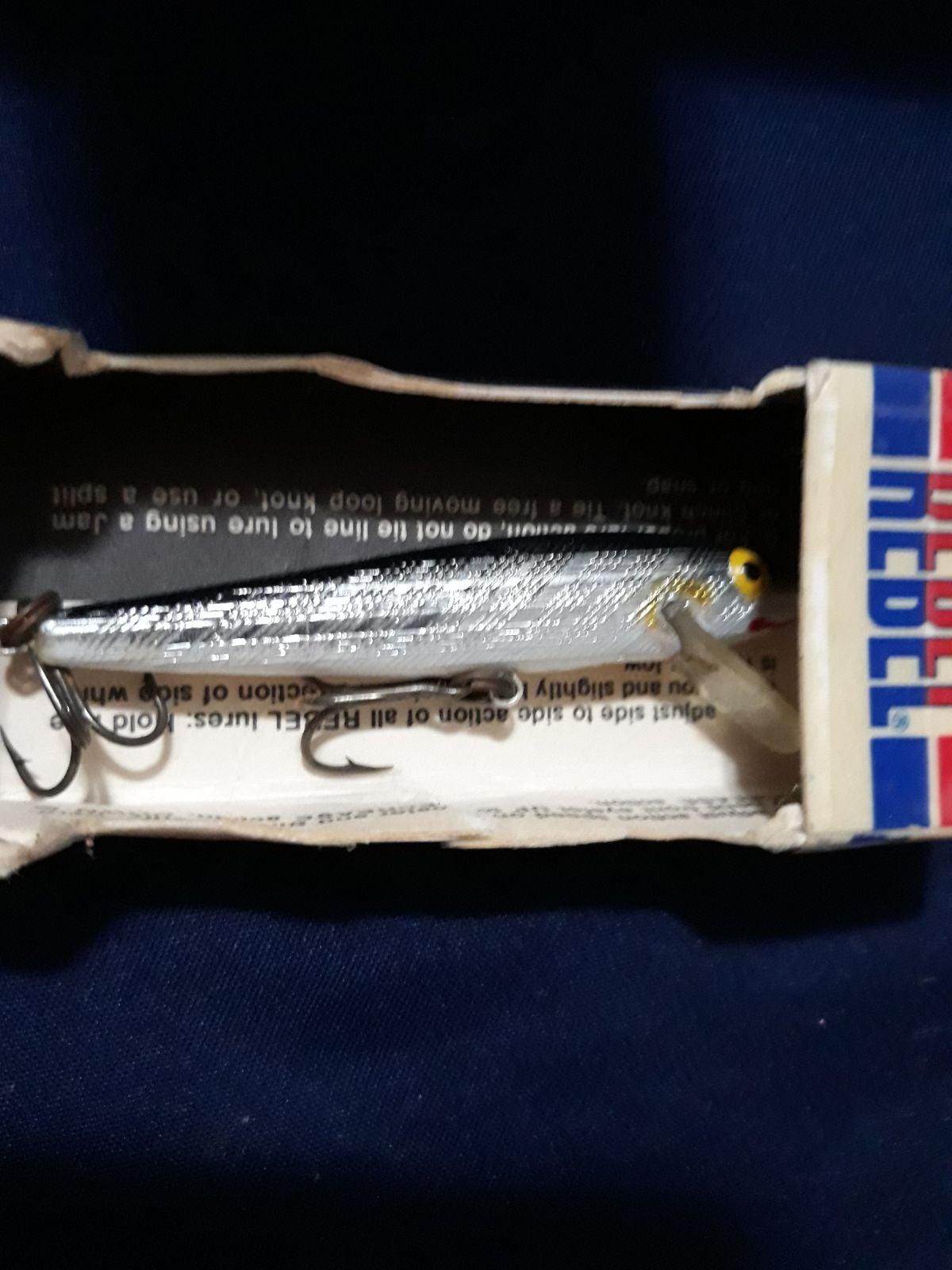 Rebel fishing lure
