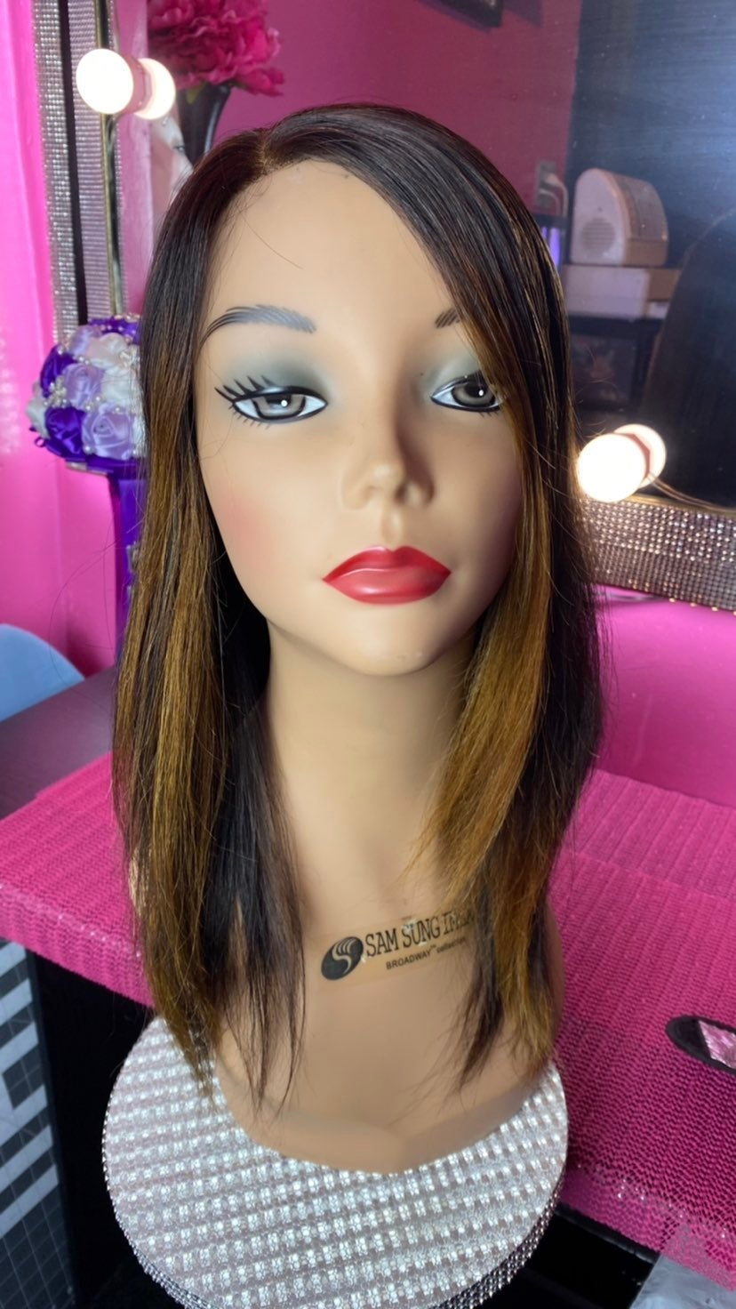 100% Human lacefront wig
