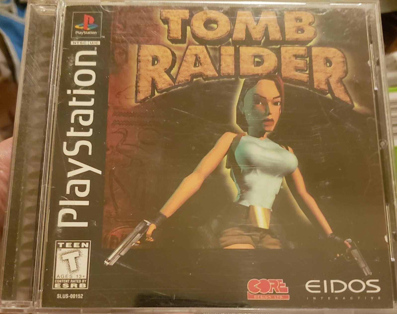 Tomb Raider (PS1) (CIB) Lara Croft VTG