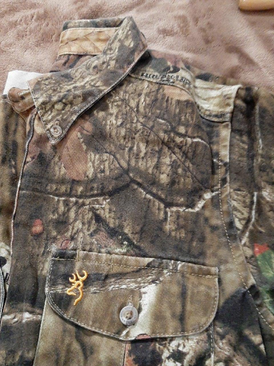 Browning Cammo Shirt, YL