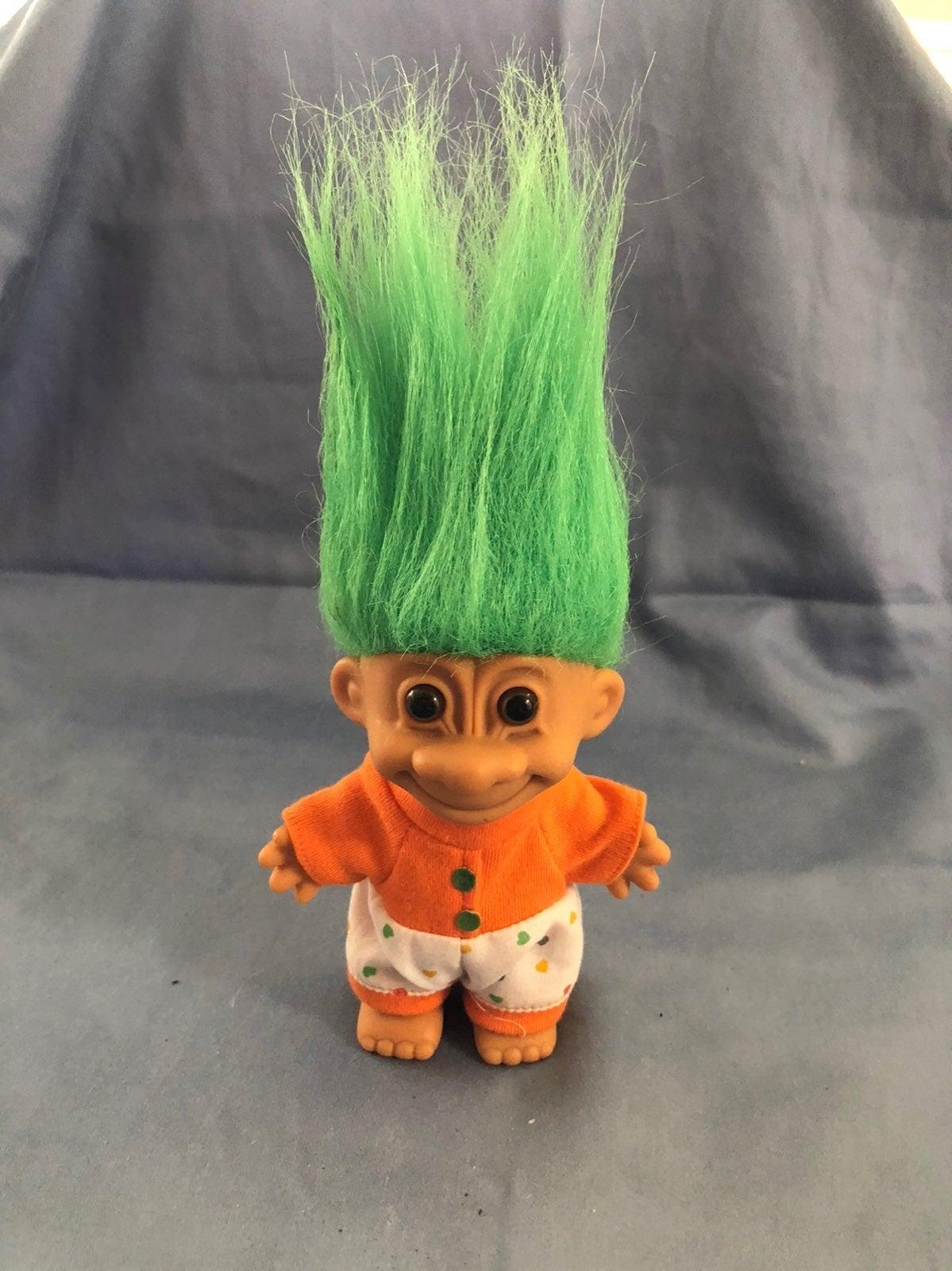 Vntg Russ Troll Doll