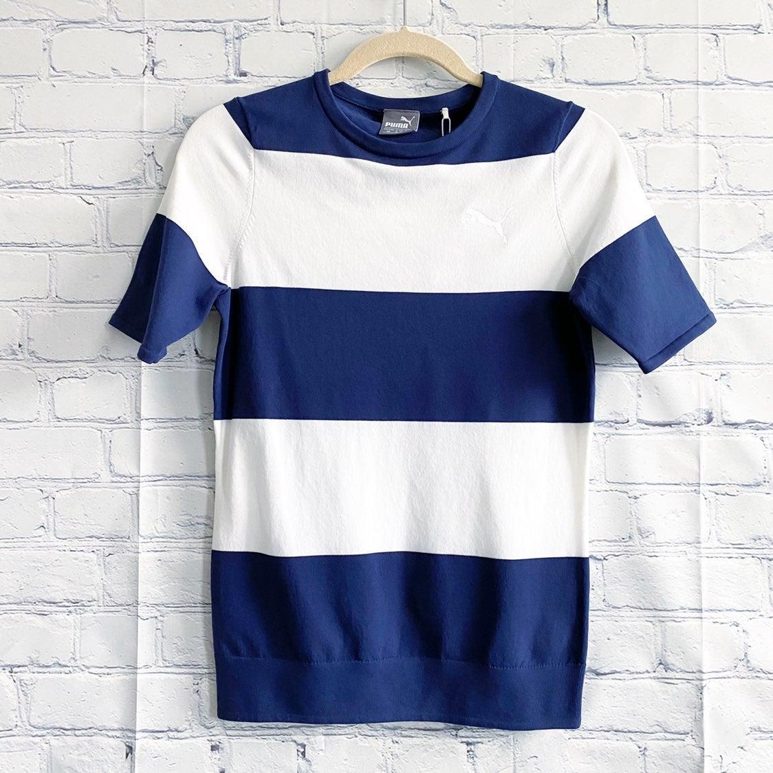 Puma Golf Rugby Stripe Knit Sweater