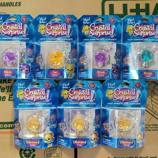 Crystal Surprise Pets - 7 Box Lot - NEW!
