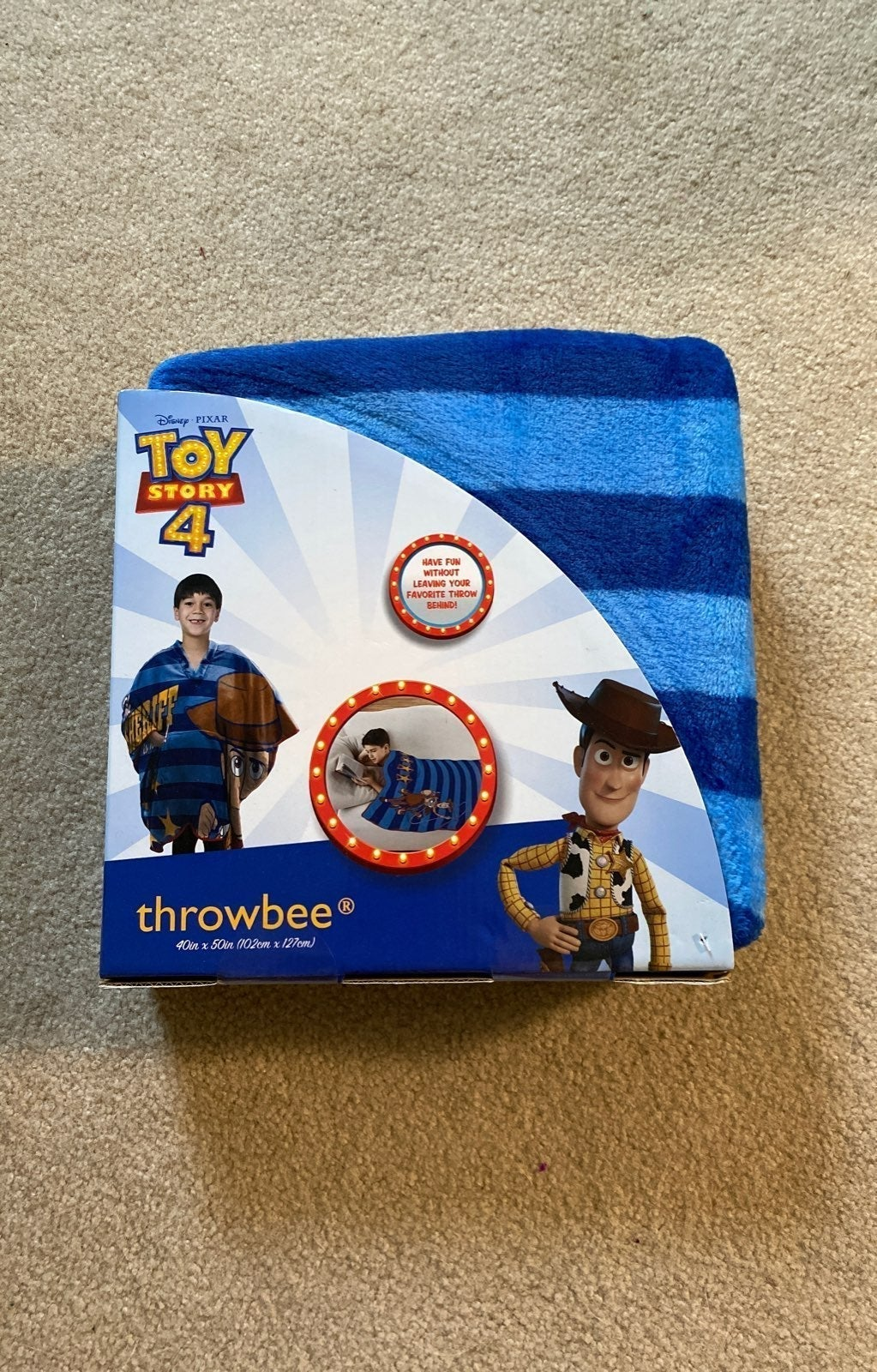 Toy Story 4 Blanket! *NWT*