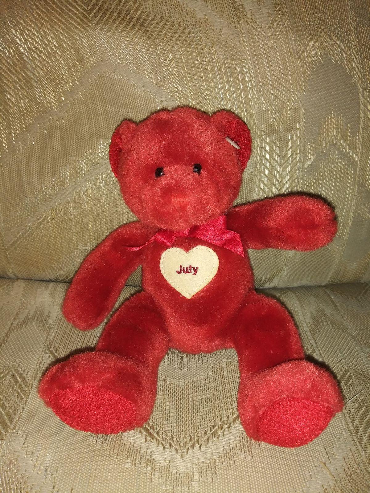 Russ Berrie For Target July Teddy Bear P