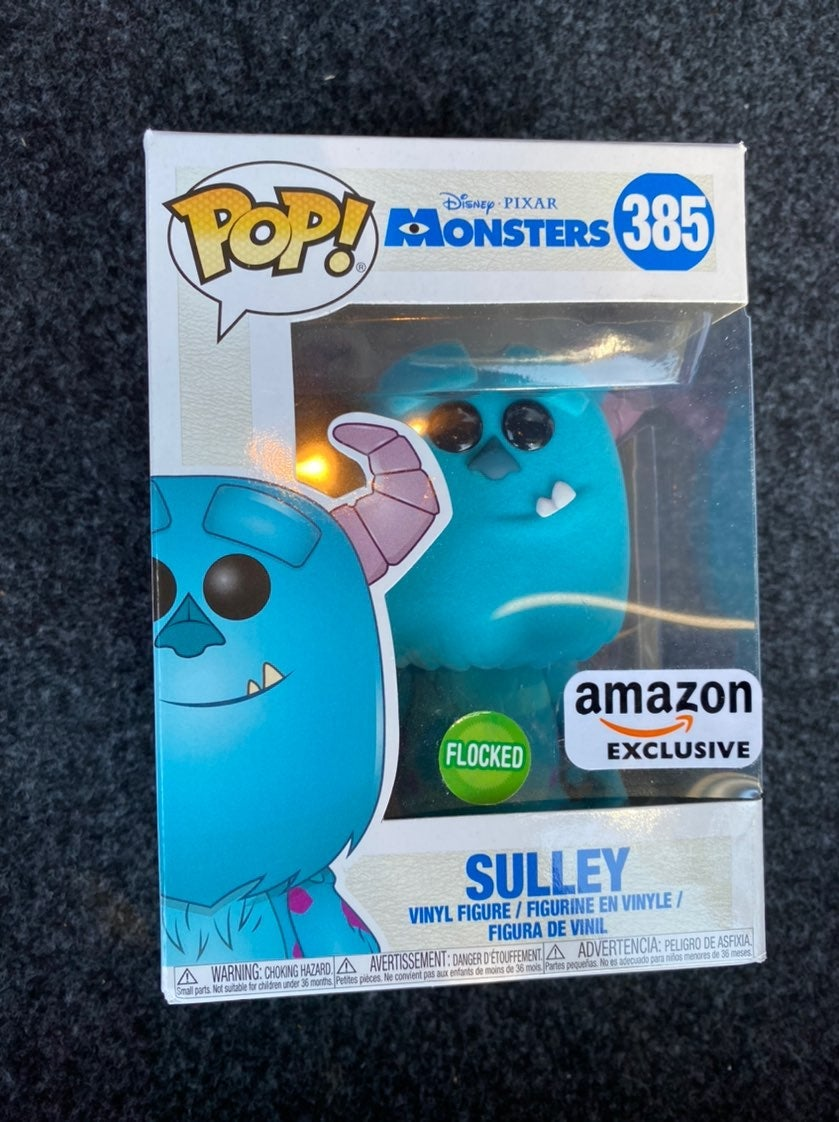 Flocked Sulley Amazon Funko Pop