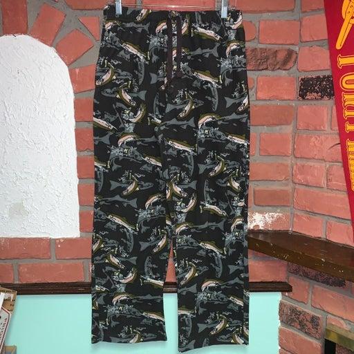 Croft & Barrow Fishing Fish Pajama Pants